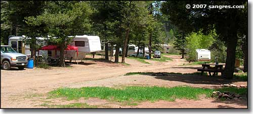 RV parking area