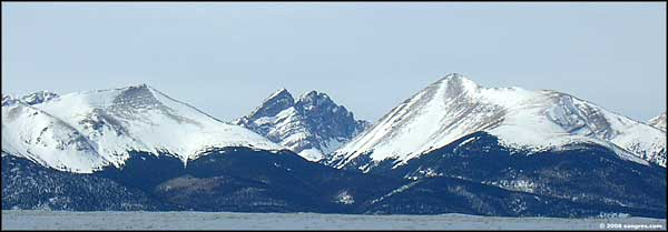 Crestone Peak and Needle