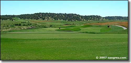 Links at Cougar Canyon golf course