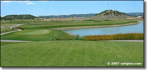 Golf course in Trinidad, Colorado