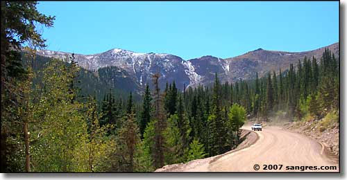 Pikes Peak Toll Road