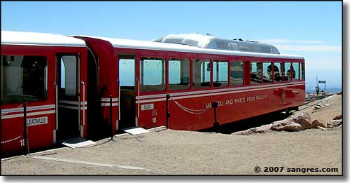 The Manitou and Pikes Peak Cog Railway