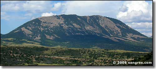 Sheep Mountain, Sangre de Cristo Mountains, Huerfano County, Colorado