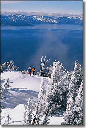 Nevada Ski and Snowboard Areas