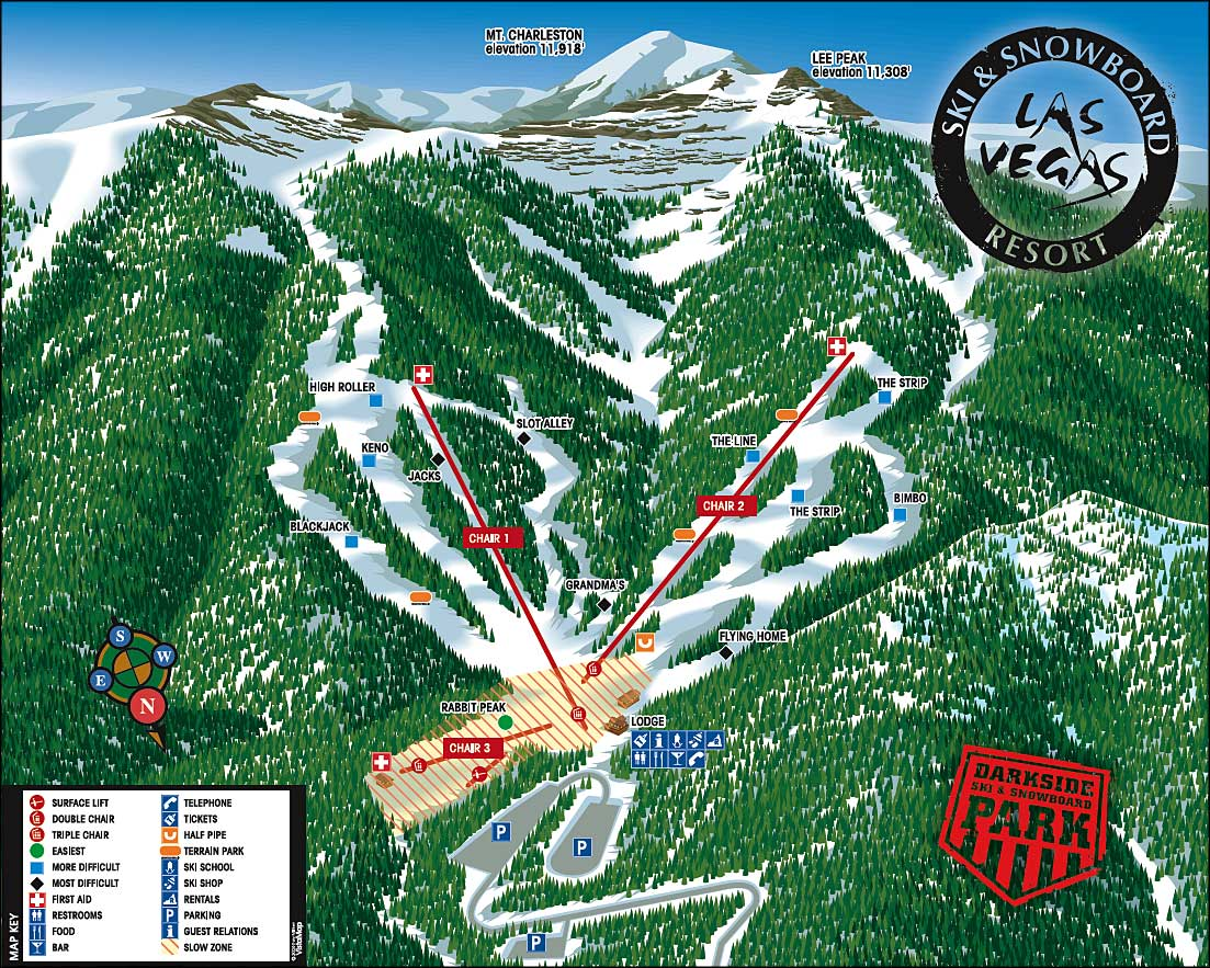 las vegas ski and snowboard resort