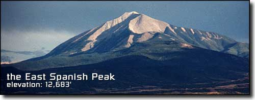 the East Spanish Peak