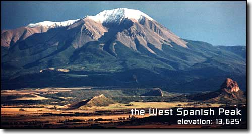 the West Spanish Peak