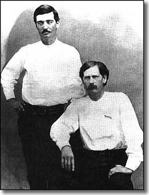 Bat Masterson and Wyatt Earp