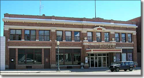 Historic Shuler Theater in Raton, New Mexico