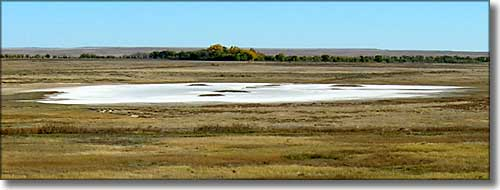 salt pan below Lake 13