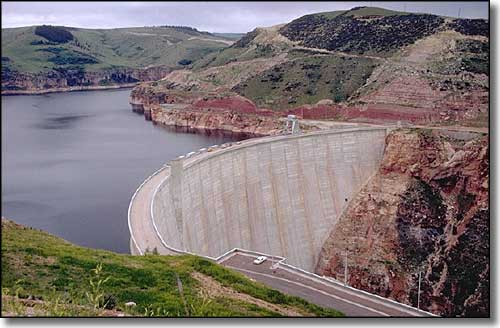 Yellowtail Dam, Bighorn River