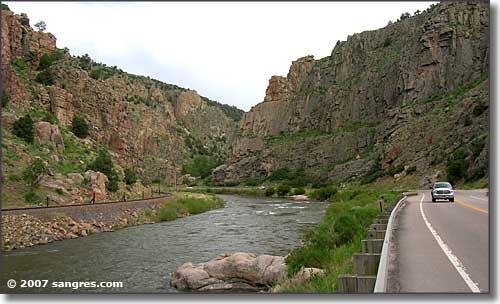 Bighorn Sheep Canyon on the Arkansas River