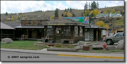 Creede visitors center