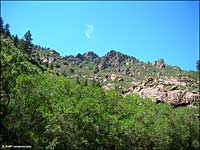 granite outcroppings