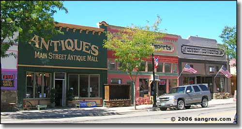 downtown Walsenburg