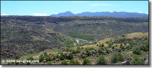 Orilla Verde in the Rio Grande Gorge