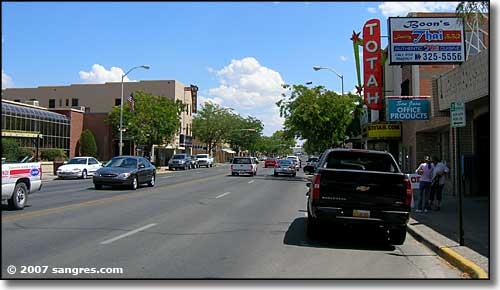 Farmington, New Mexico Main Street in Farmington