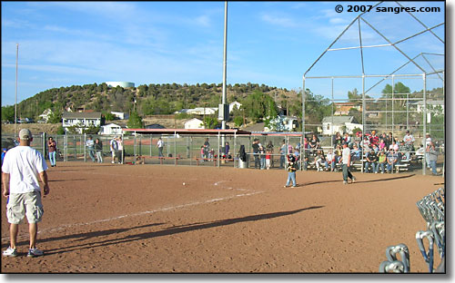 Trinidad Community Center baseball fields