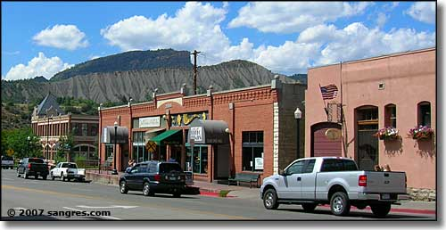 On Main Avenue in Durango, Colorado
