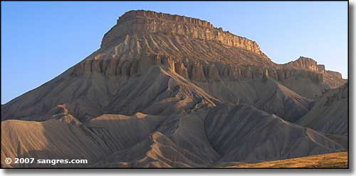Book Cliffs Utah Book Cliffs North of Grand