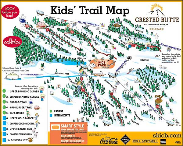 Oregon map for kids bnhspine pics photos map of oregon trail for kids freerunsca Choice Image