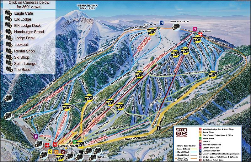 Ski Apache Ski Area on