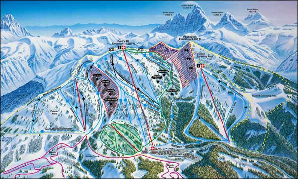 Grand Targhee Ski and Summer Resort, Jackson, Wyoming
