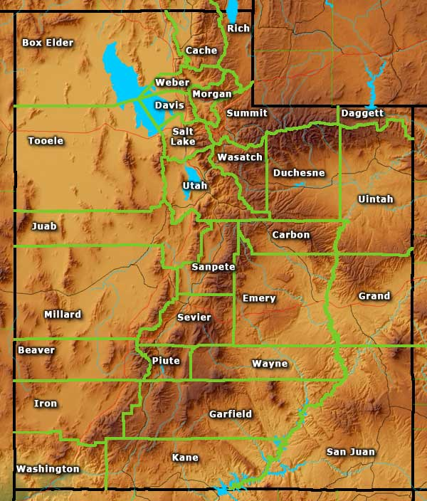 Utah Information Photos and Maps