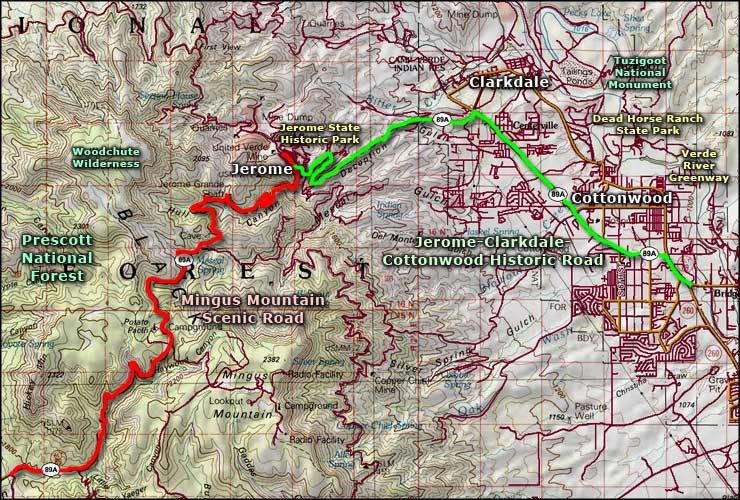 Woodchute Wilderness area map