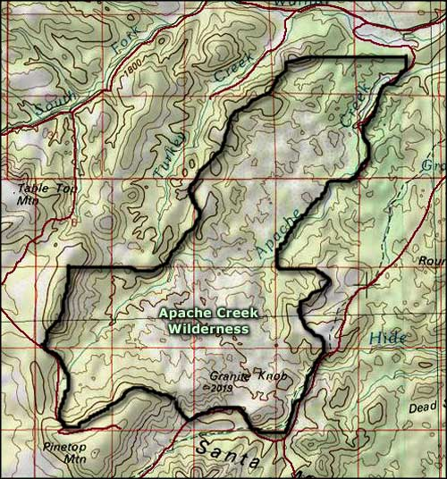 Apache Creek Wilderness, Prescott National Forest