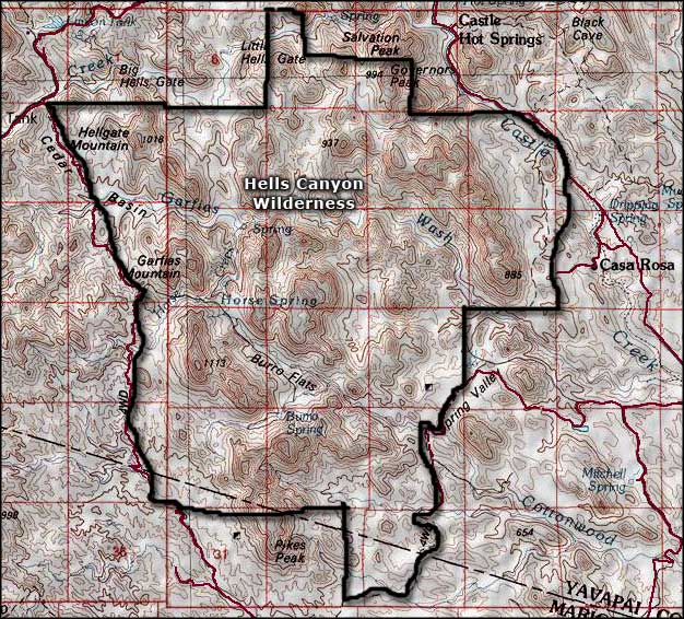 arizona state map with counties with Hells Canyon Wilderness  Arizona on City Map together with Nevada State Road together with File Arizona county map furthermore West Virginia Road Map additionally Maricopa county.