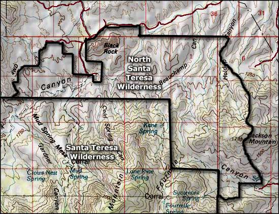 North Santa Teresa Wilderness on tonto apache, san carlos mexico map, pascua yaqui tribe, navajo indian reservation map, fort peck indian reservation map, tohono o'odham indian reservation map, white earth indian reservation map, yuma indian map, utah ute indian reservation map, pechanga indian reservation map, hopi reservation, la jolla indian reservation map, red lake indian reservation map, plains apache, yavapai-apache nation, gila bend indian reservation map, kaibab indian reservation, agua caliente indian reservation map, united states indian reservation map, ak chin indian reservation map, ak-chin indian community, san carlos hunting unit map, pala indian reservation map, california indian reservation map, fort apache indian reservation, skull valley, ramona indian reservation map, santee indian reservation map, laguna pueblo, gila river indian community, mesa grande indian reservation map,