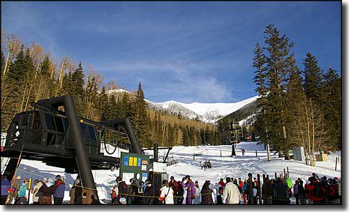 The Snowbowl's Agassiz skilift