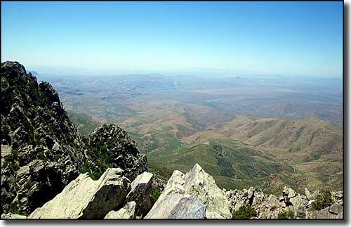 Four Peaks Wilderness, Brown's Peak summit