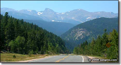 Peak Peak Peak to Peak Scenic Byway