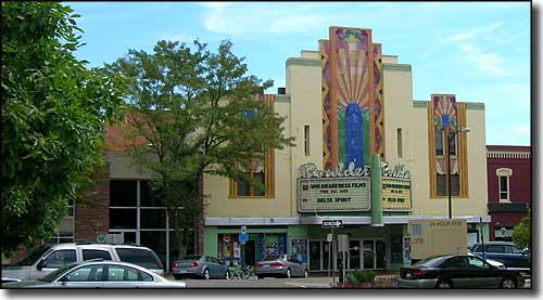 The Historic Boulder Theater in Boulder, Colorado