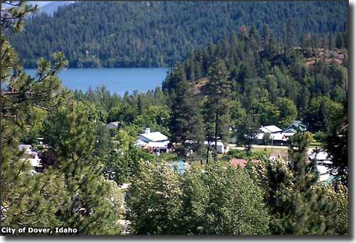 Dover, Idaho and the Pend Oreille River