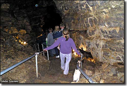 Minnetonka Cave, along the Oregon Trail-Bear Lake Scenic Byway