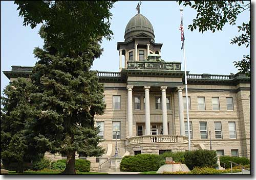 Cascade County Courthouse in Great Falls