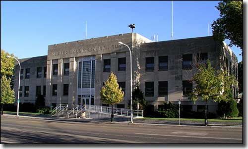 Custer County Courthouse in Miles City, Montana