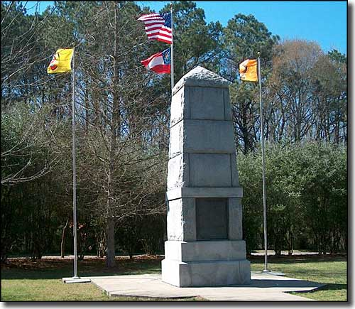 Trail of Tears Memorial, New Echota Historic Site, Georgia