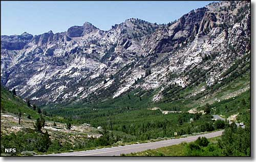 Lamoille Canyon, Ruby Mountains, Nevada