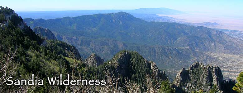 Sandia Wilderness