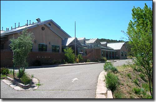 Cibola National Forest office in Tijeras