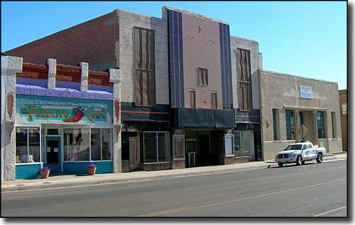 In the old part of downtown Tucumcari