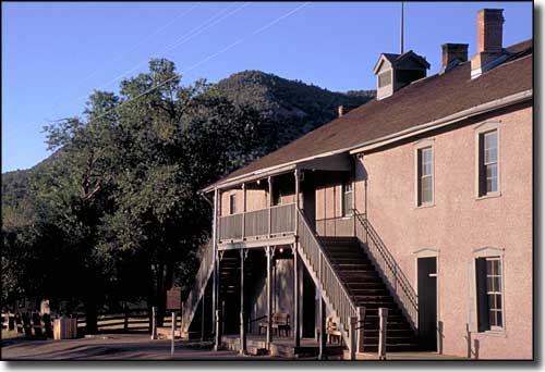 Lincoln County Jail and Courthouse, home of Billy the Kid for several days in 1881