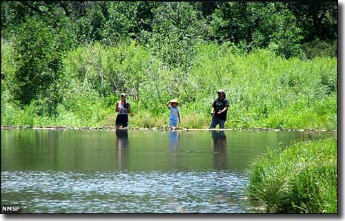 Fisherfolks at Coyote Creek State Park