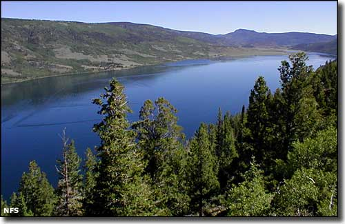 Fish Lake in Fishlake National Forest