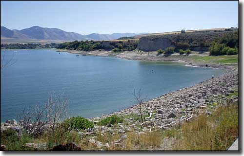 Hyrum Reservoir at Hyrum State Park
